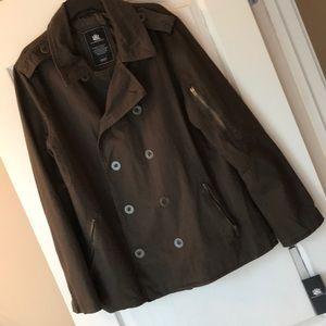 New Men's jacket olive brown